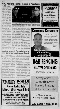Athens News Courier, March 27, 2005, Page 19