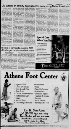 Athens News Courier, March 27, 2005, Page 35