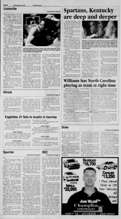 Athens News Courier, March 27, 2005, Page 49