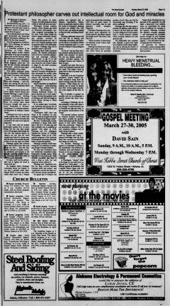Athens News Courier, March 27, 2005, Page 22
