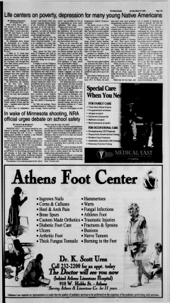 Athens News Courier, March 27, 2005, Page 36