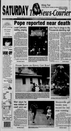 Athens News Courier, April 02, 2005, Page 1
