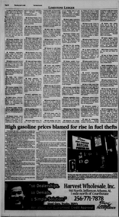 Athens News Courier, April 02, 2005, Page 16