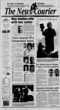 Athens News Courier, April 06, 2005, Page 1