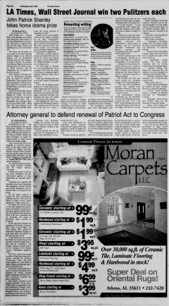 Athens News Courier, April 06, 2005, Page 19