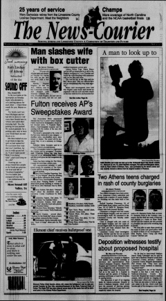 Athens News Courier, April 06, 2005, Page 2