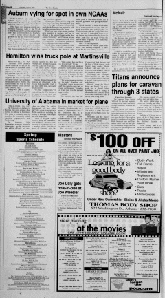 Athens News Courier, April 09, 2005, Page 19