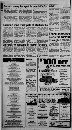 Athens News Courier, April 09, 2005, Page 20