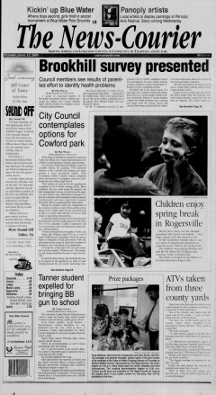 Athens News Courier, April 12, 2005, Page 1