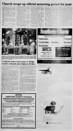 Athens News Courier, April 17, 2005, Page 23