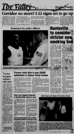 Athens News Courier, April 17, 2005, Page 12