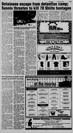Athens News Courier, April 17, 2005, Page 18