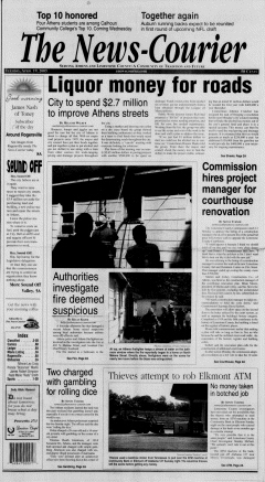 Athens News Courier, April 19, 2005, Page 1