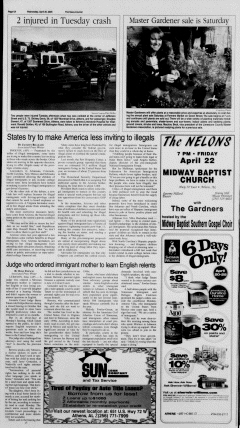 Athens News Courier, April 20, 2005, Page 11