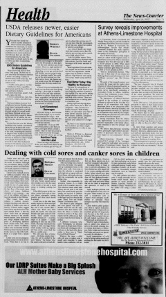 Athens News Courier, April 20, 2005, Page 13