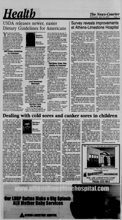 Athens News Courier, April 20, 2005, Page 14