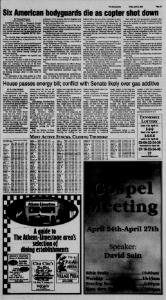 Athens News Courier, April 22, 2005, Page 6