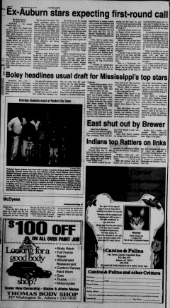Athens News Courier, April 23, 2005, Page 20
