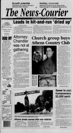 Athens News Courier, April 24, 2005, Page 1