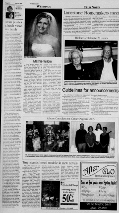 Athens News Courier, April 24, 2005, Page 51