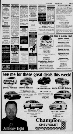 Athens News Courier, April 24, 2005, Page 85