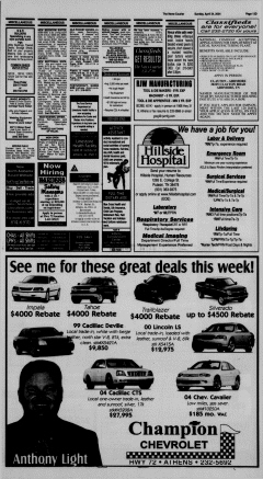 Athens News Courier, April 24, 2005, Page 86