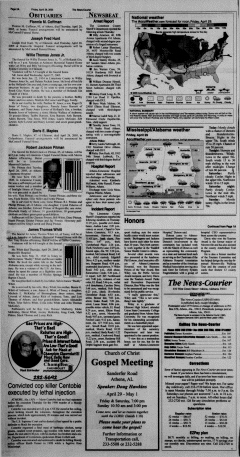 Athens News Courier, April 29, 2005, Page 4