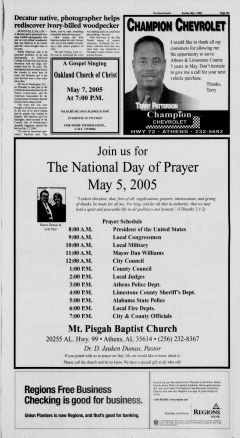 Athens News Courier, May 01, 2005, Page 37