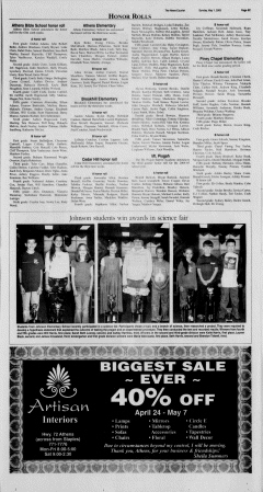 Athens News Courier, May 01, 2005, Page 65