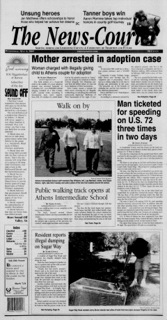 Athens News Courier, May 04, 2005, Page 1
