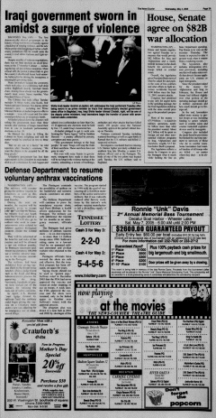 Athens News Courier, May 04, 2005, Page 6