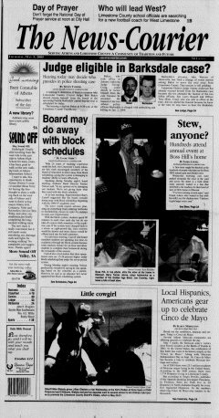 Athens News Courier, May 05, 2005, Page 1