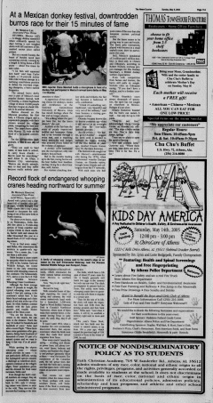 Athens News Courier, May 08, 2005, Page 21