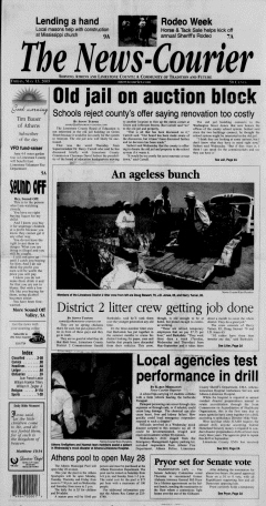 Athens News Courier, May 13, 2005, Page 1