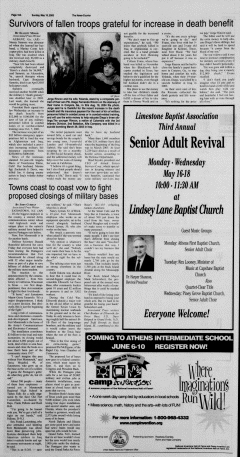 Athens News Courier, May 15, 2005, Page 31