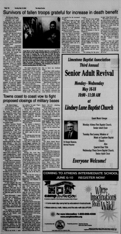 Athens News Courier, May 15, 2005, Page 32