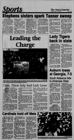 Athens News Courier, May 15, 2005, Page 34