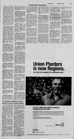 Athens News Courier, May 17, 2005, Page 13
