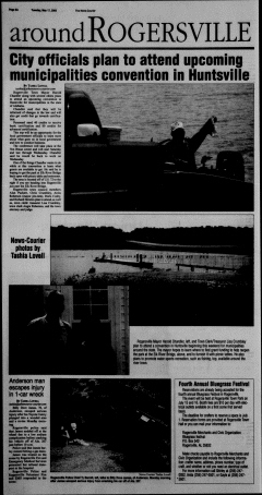 Athens News Courier, May 17, 2005, Page 16
