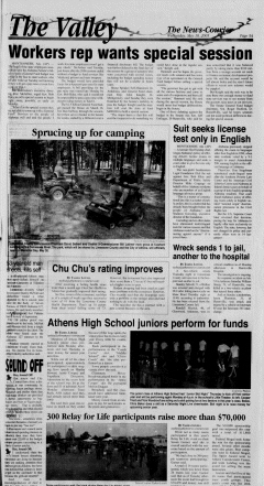 Athens News Courier, May 18, 2005, Page 9