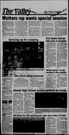 Athens News Courier, May 18, 2005, Page 10