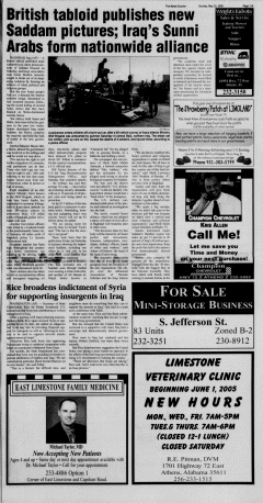 Athens News Courier, May 22, 2005, p. 21