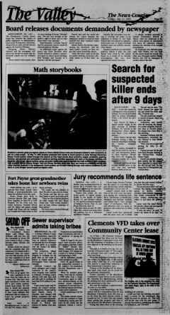 Athens News Courier, May 22, 2005, p. 12