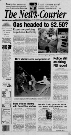 Athens News Courier, May 24, 2005, Page 1