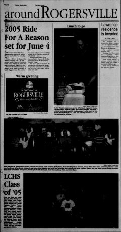 Athens News Courier, May 24, 2005, Page 16
