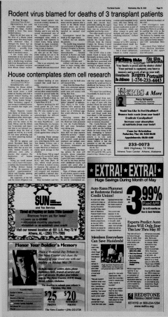 Athens News Courier, May 25, 2005, p. 14
