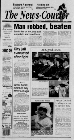 Athens News Courier, May 27, 2005, Page 1