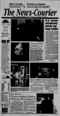 Athens News Courier, May 31, 2005, p. 2