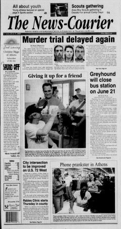 Athens News Courier, June 05, 2005, Page 1