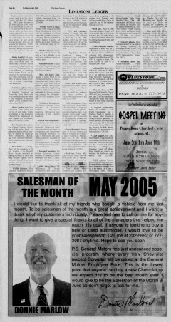 Athens News Courier, June 05, 2005, Page 15